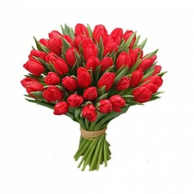ramo de tulipanes en boquet