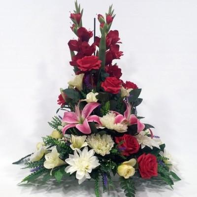 Centro de flor variada (flor según stock)