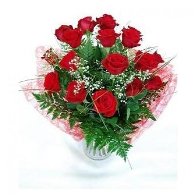 Ramo de Rosas Rojas Premium